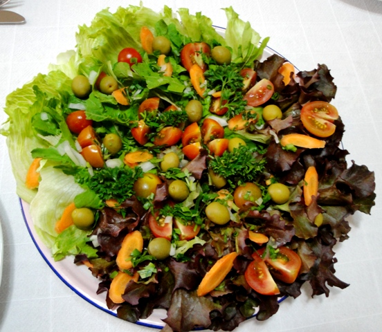 Salada de domingo