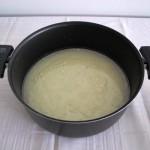 Mistura líquida para cozinhar a massa
