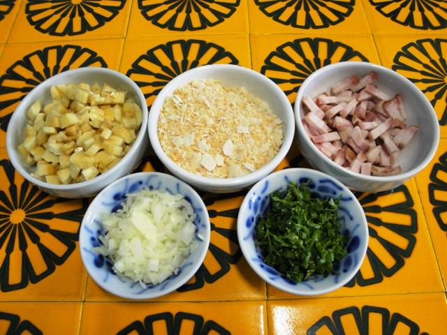 Ingredientes farofa