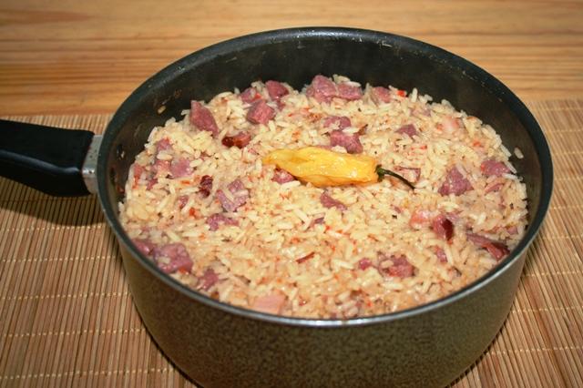 arroz carreteiro prontinho