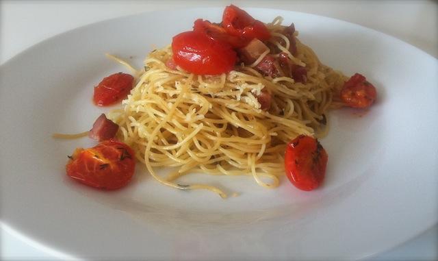 espaguete perfumado