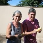 Tia Célia e Edvaldo