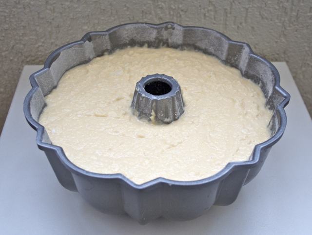 bolo de mandioca massa
