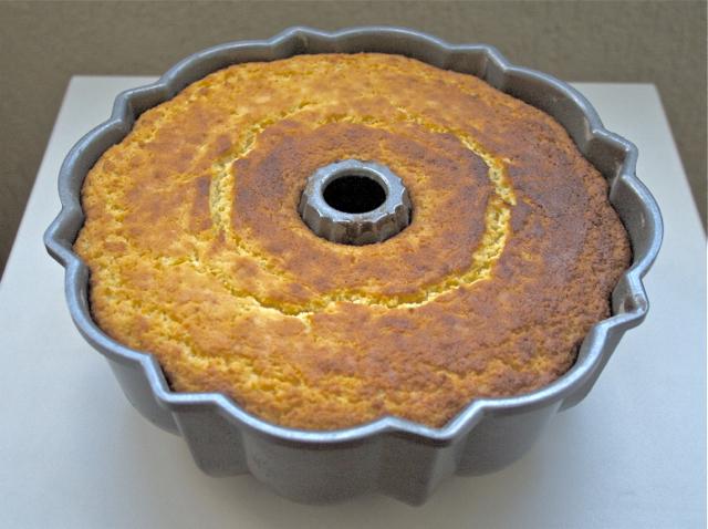 bolo de mandioca pronto