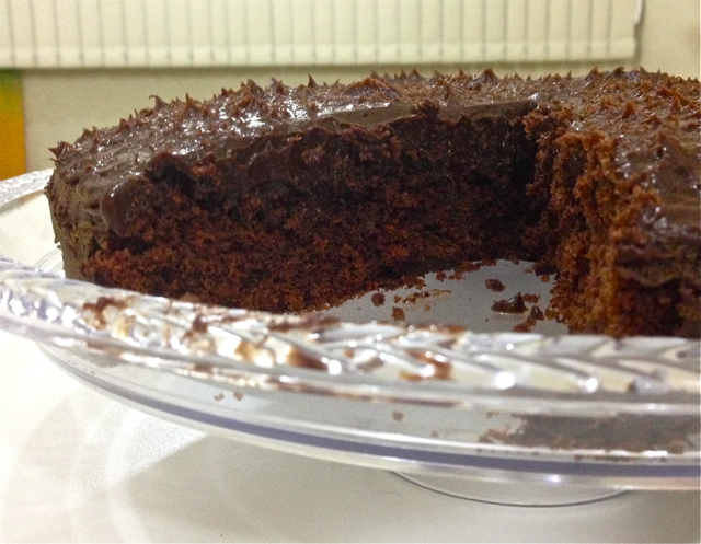 chocolate fudge cake 1