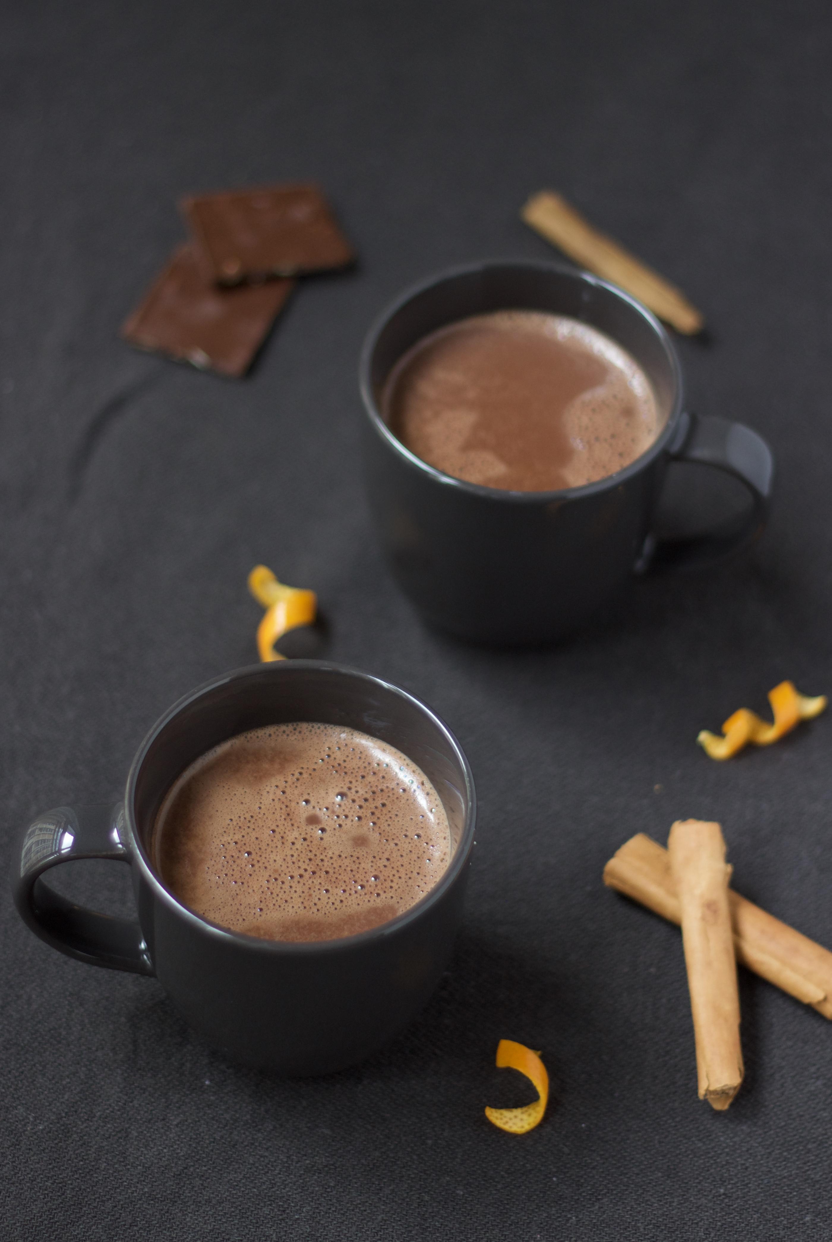 Meu chocolate quente preferido