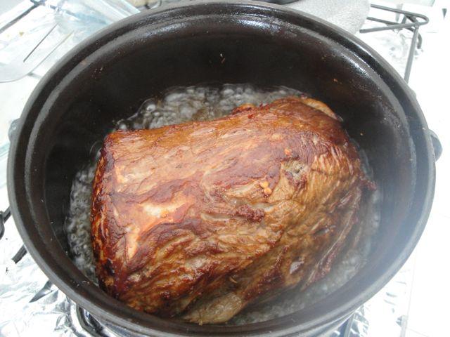 Carne selada