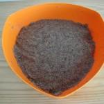 Massa do quibe pronta: carne, trigo e temperos misturados