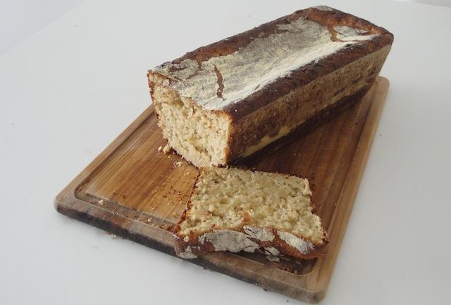 Pão de flocos de aveia